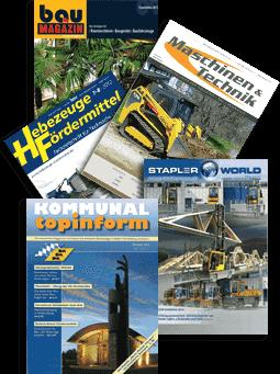 Collage Industriezeitschriften